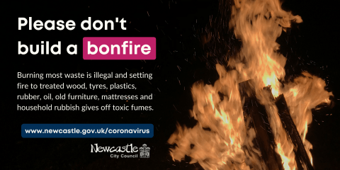 Please don't light bonfires