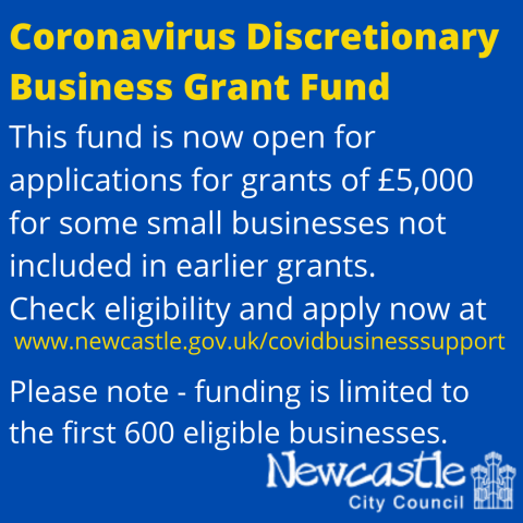 Applications are now open for a further £3 million of business support grants