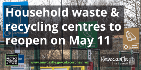 A photo of Walbottle household waste and recycling centre