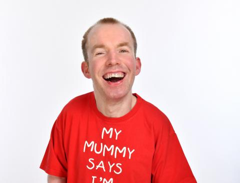 Lee Ridley (Lost Voice Guy) - photocredit, Steve Ullathorne