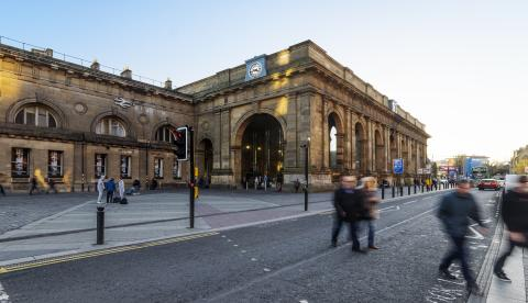 Newcastle Central is one of the stations set to benefit from the bid