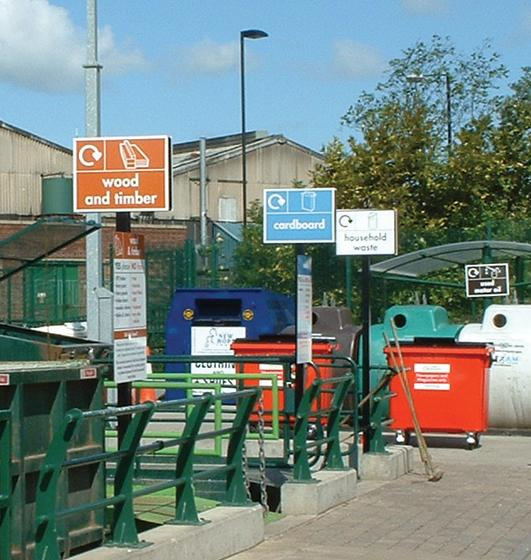 Recycling centre Byker