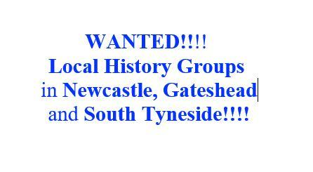 Wanted, local history groups