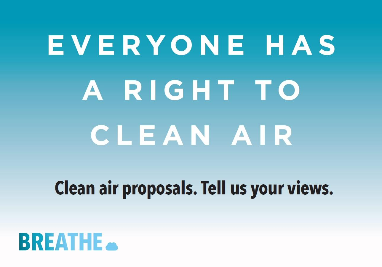 Air quality consultation is launched