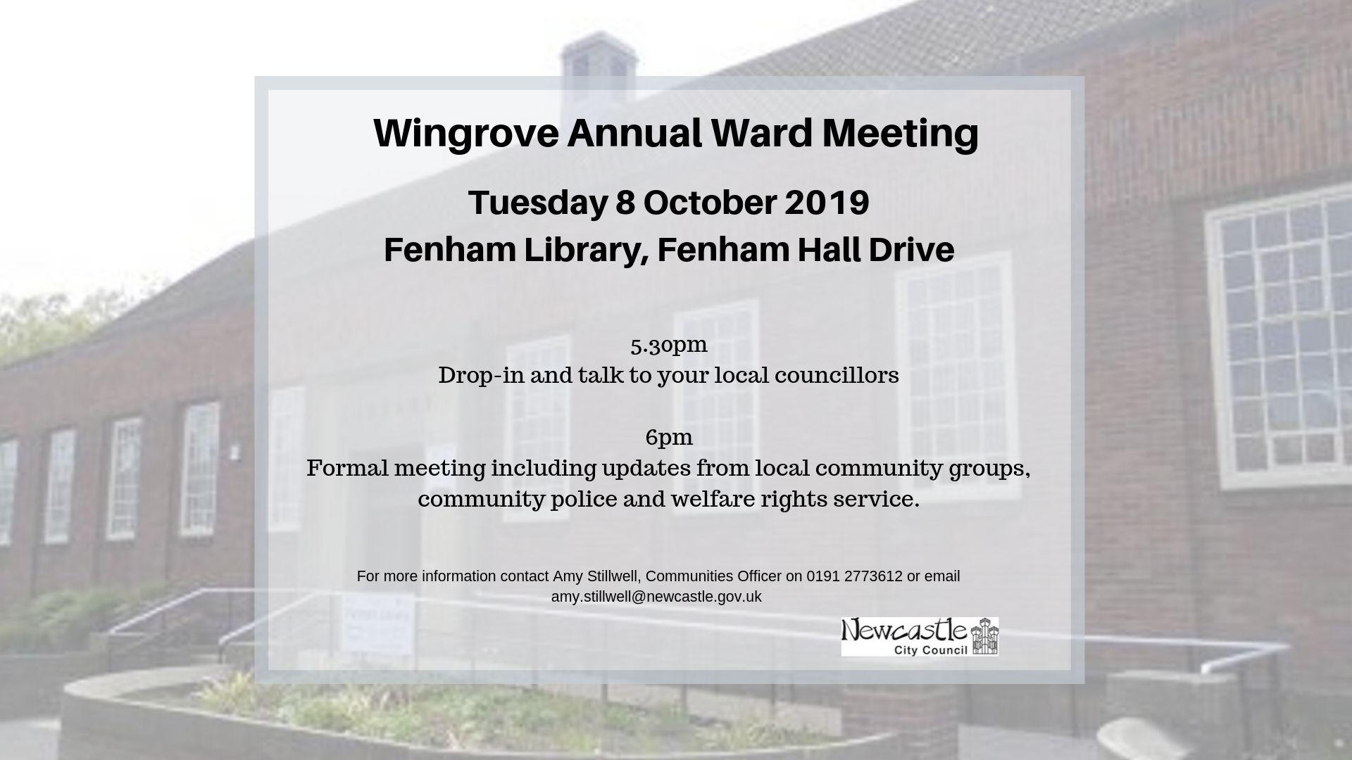 Wingrove Ward Flyer