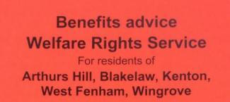 advert for benefits advice