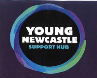 Young Newcastle Support Hub Logo