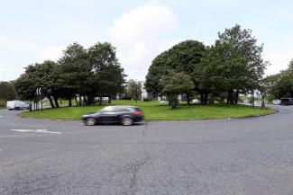This junction with Ponteland Road and Etal Lane could be re-designed