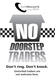 No Cold Calling Zone flyer