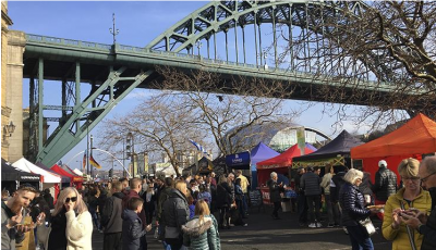 Newcastle Quayside Sunday Market (Photo: NGI)