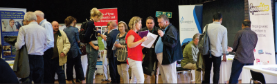 Networking at last years event