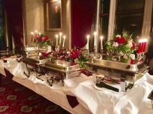 Victorian Buffet set up