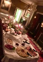 Just one of the possibile Evening Buffet set ups