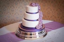 Stunning wedding cake by The Sticky Sponge Company