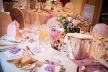 Beautiful settings for your guests